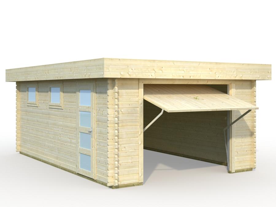 Abris et chalets de jardin for Garage bois autoclave