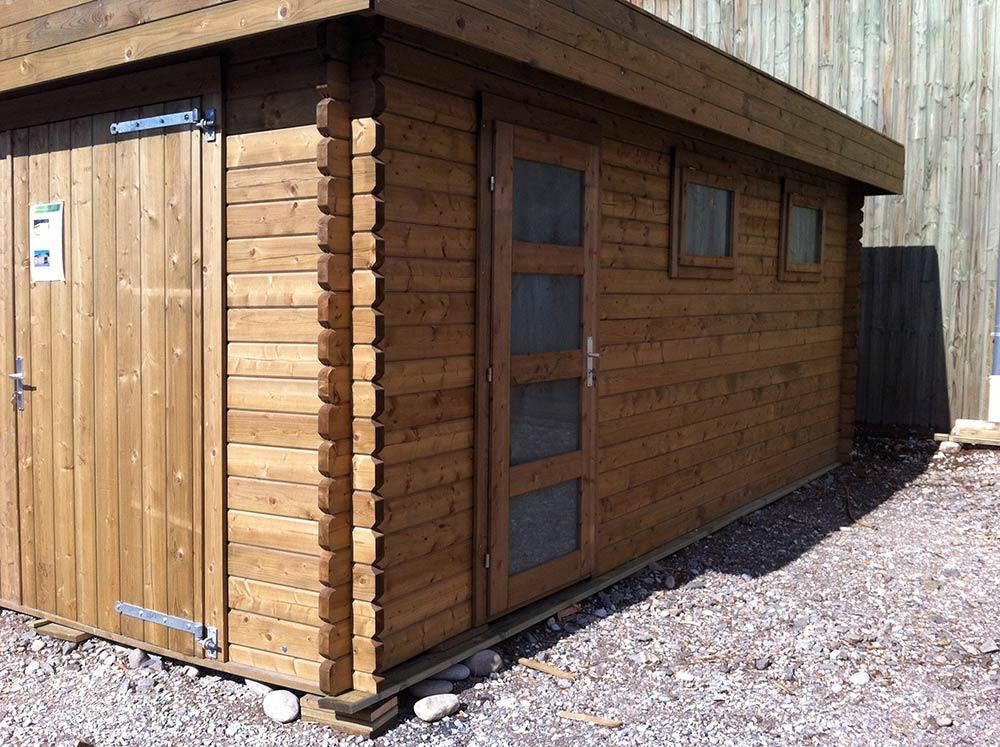Bois pour l 39 am nagement d 39 ext rieur lames pour terrasse for Garage bois autoclave