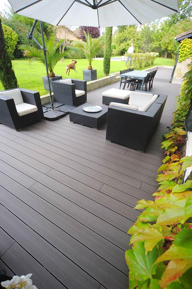 lame de terrasse composite castorama simple lambourde. Black Bedroom Furniture Sets. Home Design Ideas