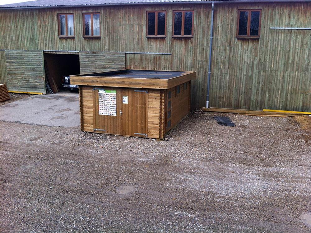 Abris et chalets de jardin for Abri garage jardin