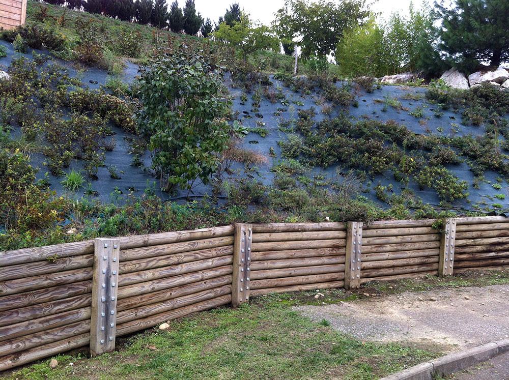 Fabriquer bordure jardin bois meilleures id es cr atives pour la conception de la maison - Bordure jardin occasion ...