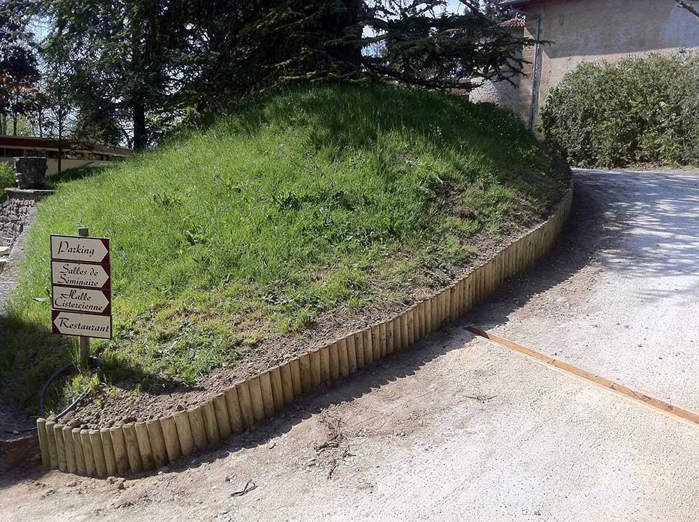 Bois pour l 39 am nagement d 39 ext rieur lames pour terrasse for Rondin de bois leroy merlin