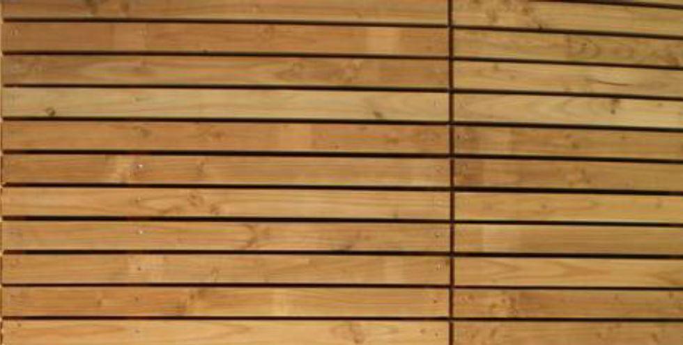 Bois pour l 39 am nagement d 39 ext rieur lames pour terrasse for Panneau claire voie bois